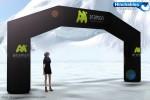 Arcos de Meta Hinchables Publicitarios :: Una manera de dar la bienvenida en muchos tipos de eventos.