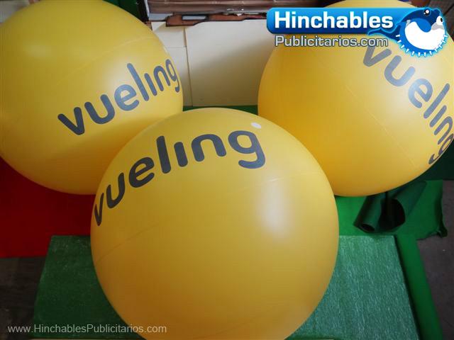 Esferas Hinchables Vueling