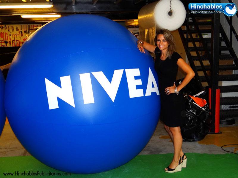 Esferas Hinchables Nivea
