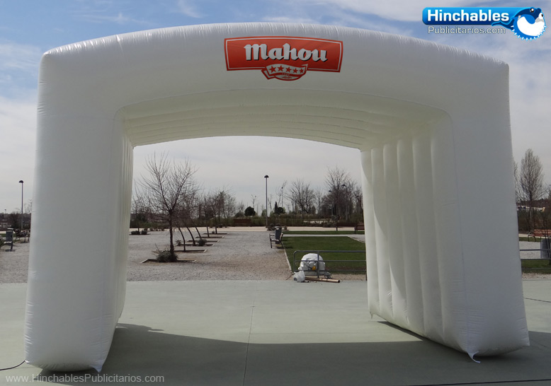 Carpa Hinchable Tipo Arco