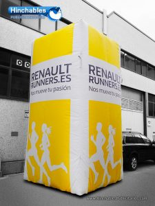 Vallas Hinchables Renault