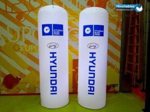Totem Iluminados Hyundai