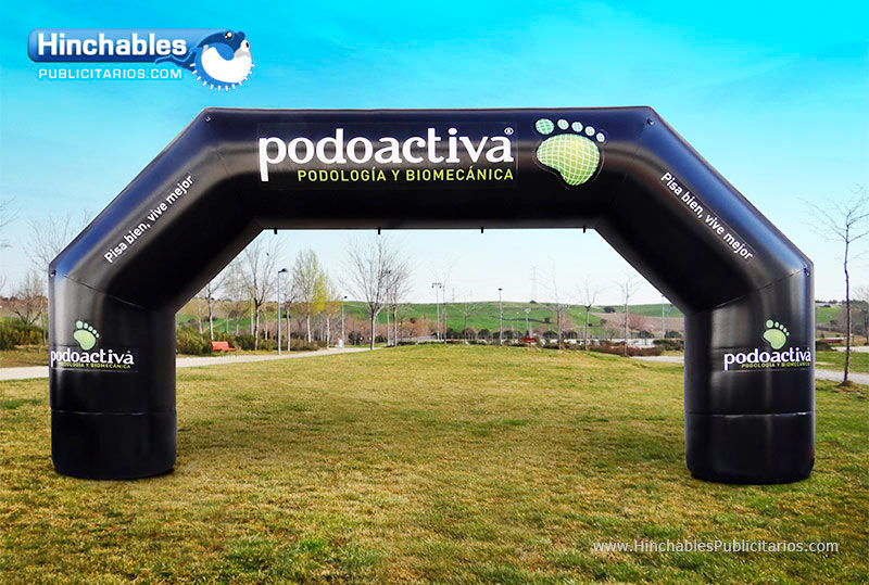 Nuevo Arco Hinchable Podoactiva