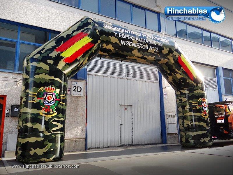 Arcos Hinchables Militares
