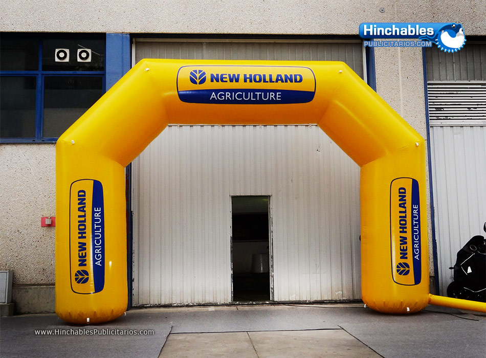 Arco de Meta New Holland