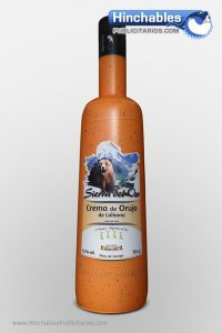Botella Hinchable Crema de Orujo