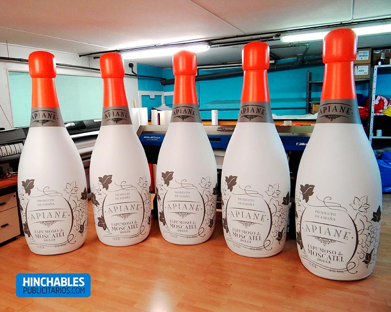 Botellas Hinchables Publicitarios