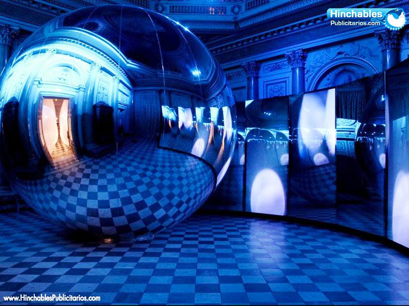Esferas Hinchables Espejo
