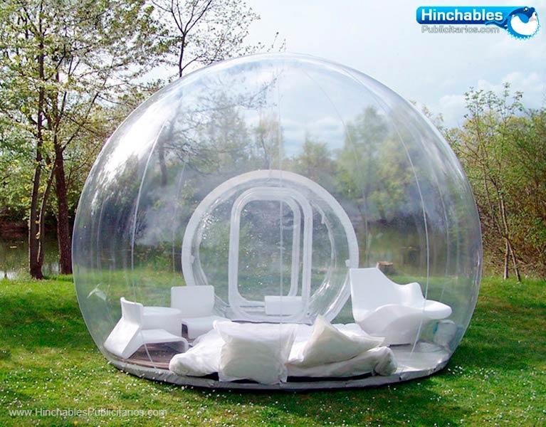 Esferas Hinchables Transparentes