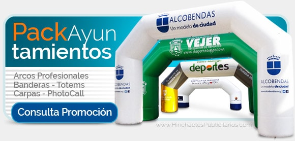 Pack Promocional Ayuntamientos