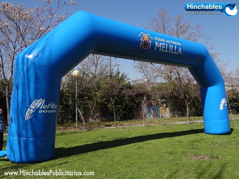 Arcos de Meta para Carreras populares Junio 2014