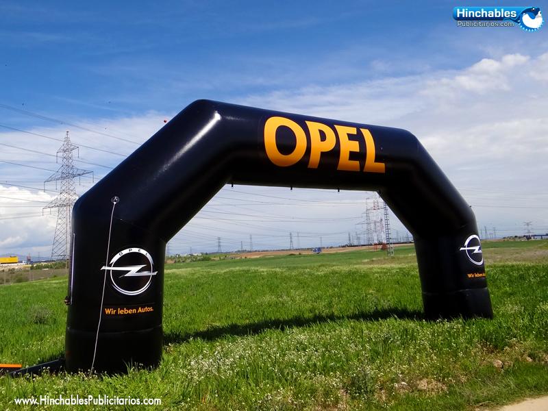 Arco de meta hinchable para Opel España