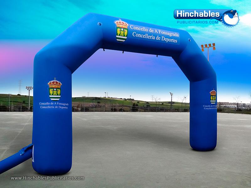 Arco Hinchable Concello A Fonsagrada