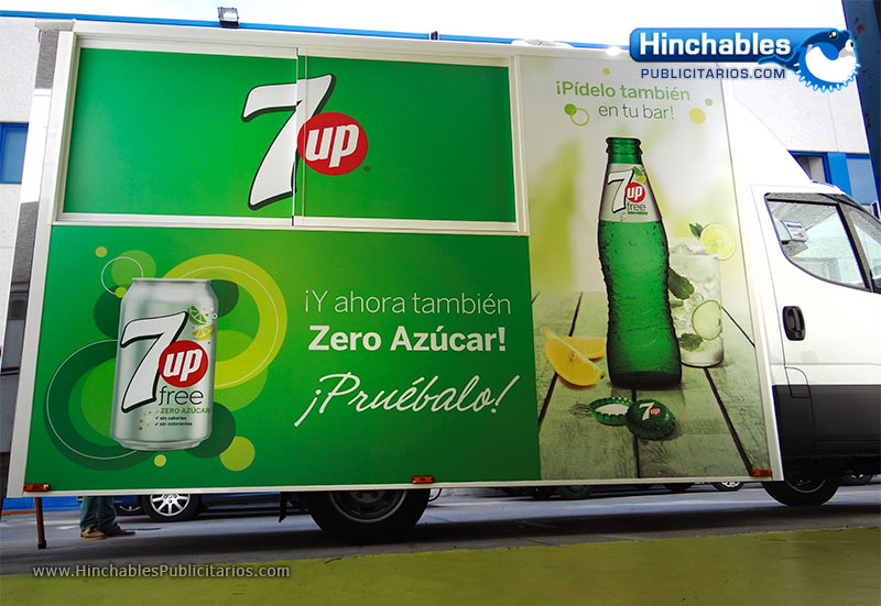 Rotulacion de Vehiculos - 7Up free