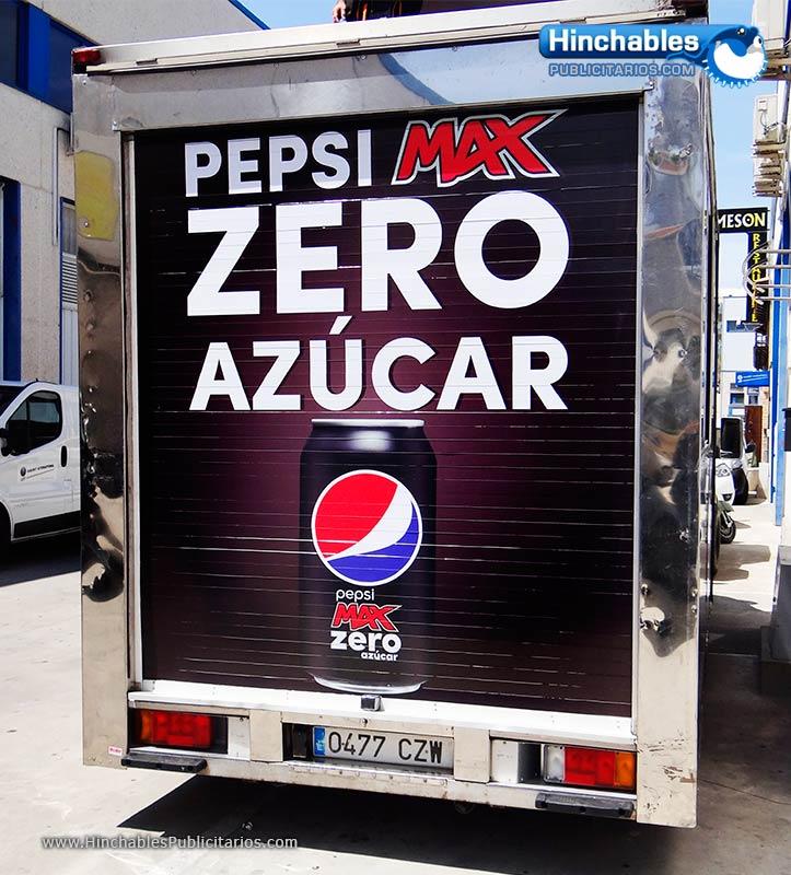 Rotulacion de Vehiculo PEPSI zero azucar