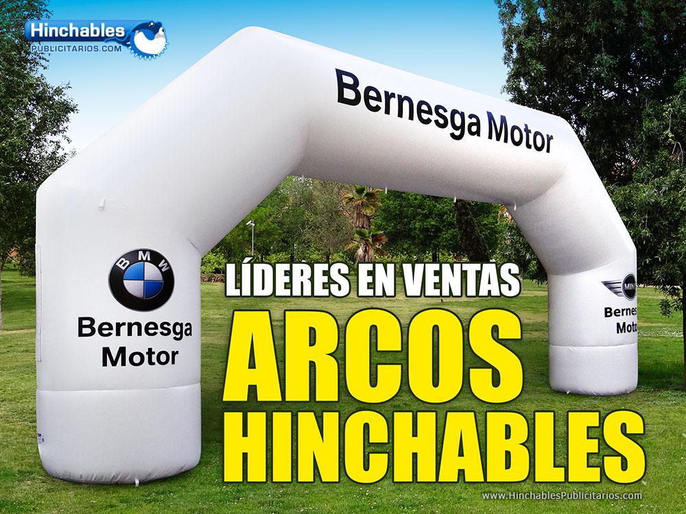 Fabricantes de Arcos de Meta Hinchables en Madrid