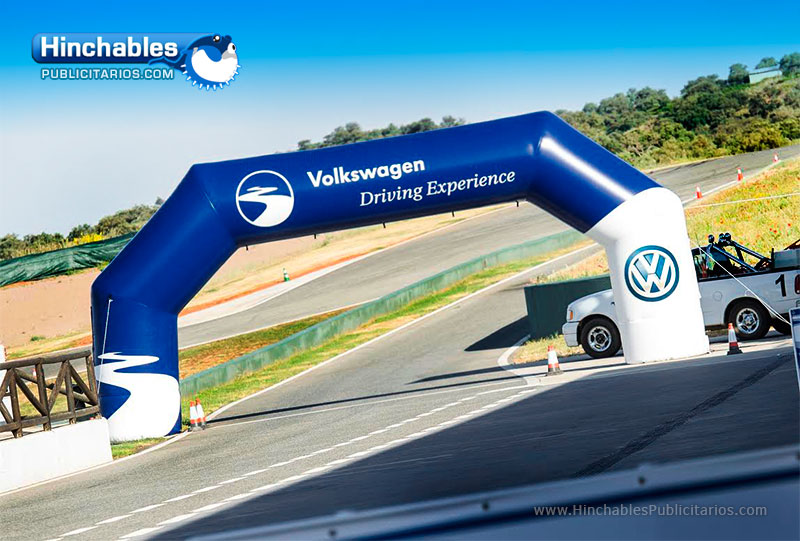 Arco de Meta Hinchable Volkswagen