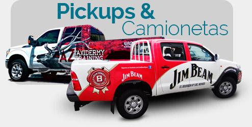 Rotulacion de Pickups y Camionetas