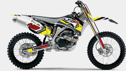 Rotulación Motocross Enduro