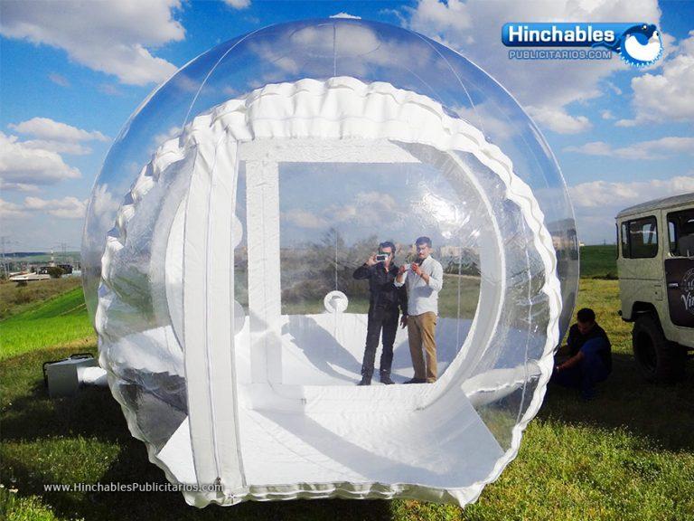 Cúpulas Hinchables Transparentes Carpas