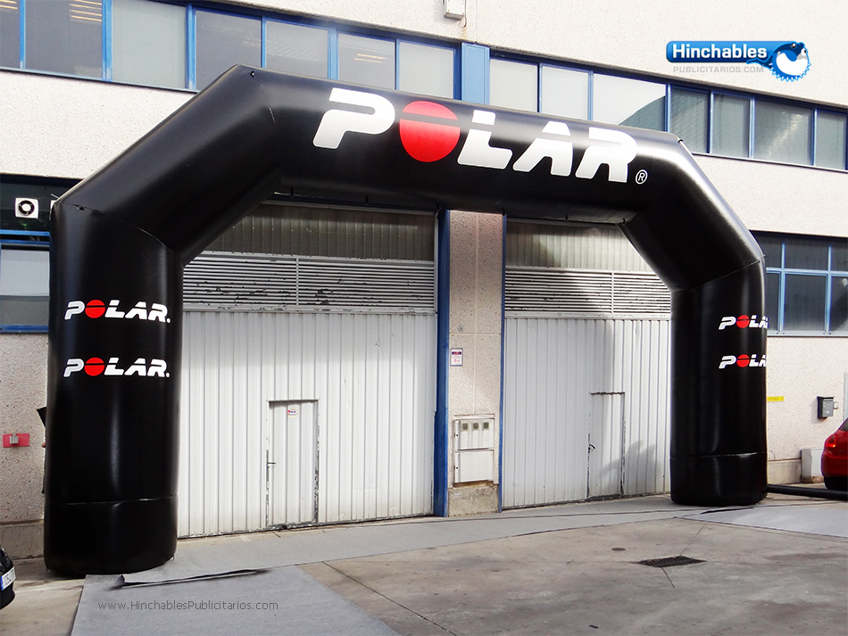 Arco Hinchable Polar Carreras