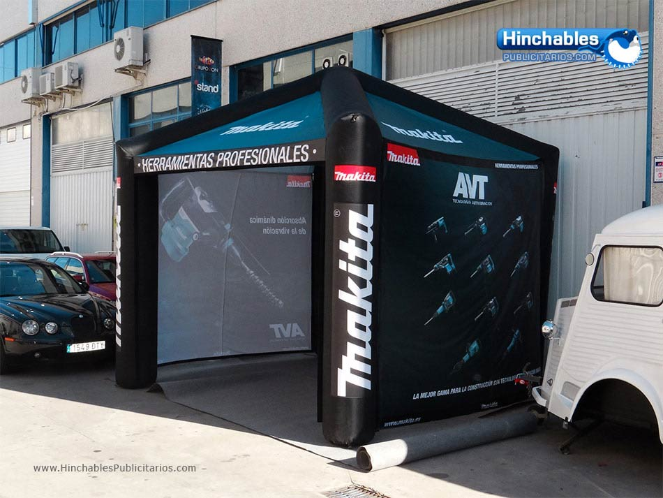 Carpas Hinchables Makita
