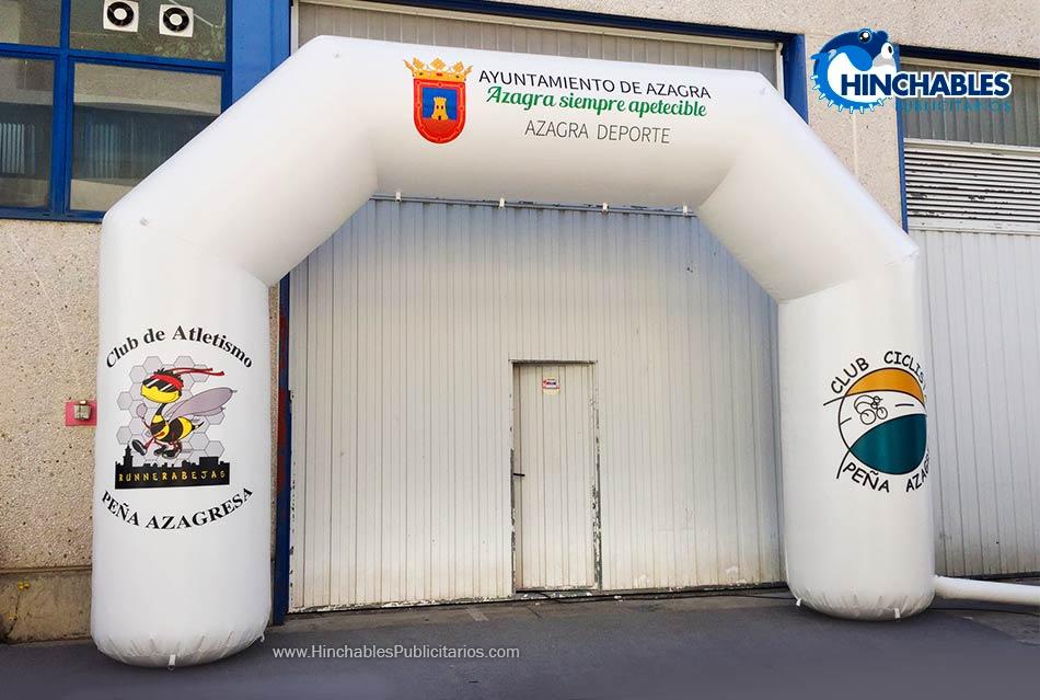 Arco Hinchable para Ayuntamiento de Azagra