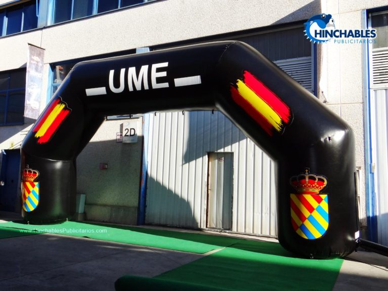 Arco Hinchable Unidad Militar de Emergencia
