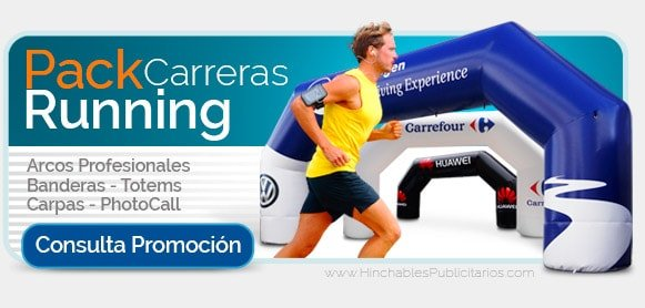 Pack Promocional Running