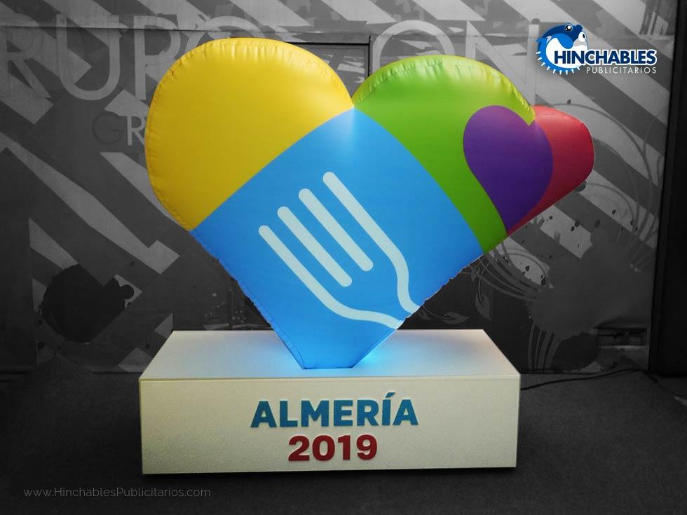 Réplica Hinchable Almería 2019