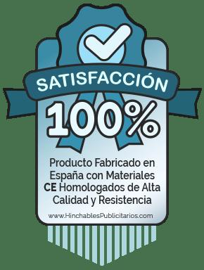Producto Fabricado en España con Materiales CE Homologados de Alta Calidad y Resistencia