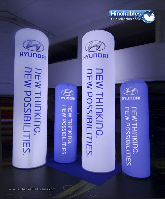 Totems Luminoso Hyundai