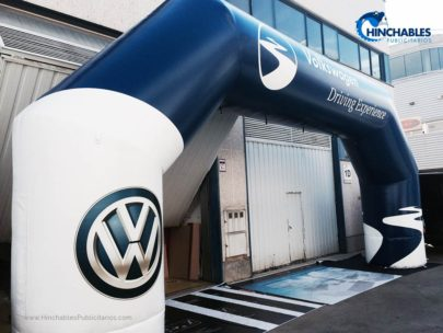 Arco Hinchable Volkswagen 2017