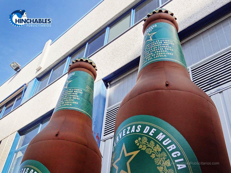 Botellas Hinchables Personalizadas para Estrella de Levante