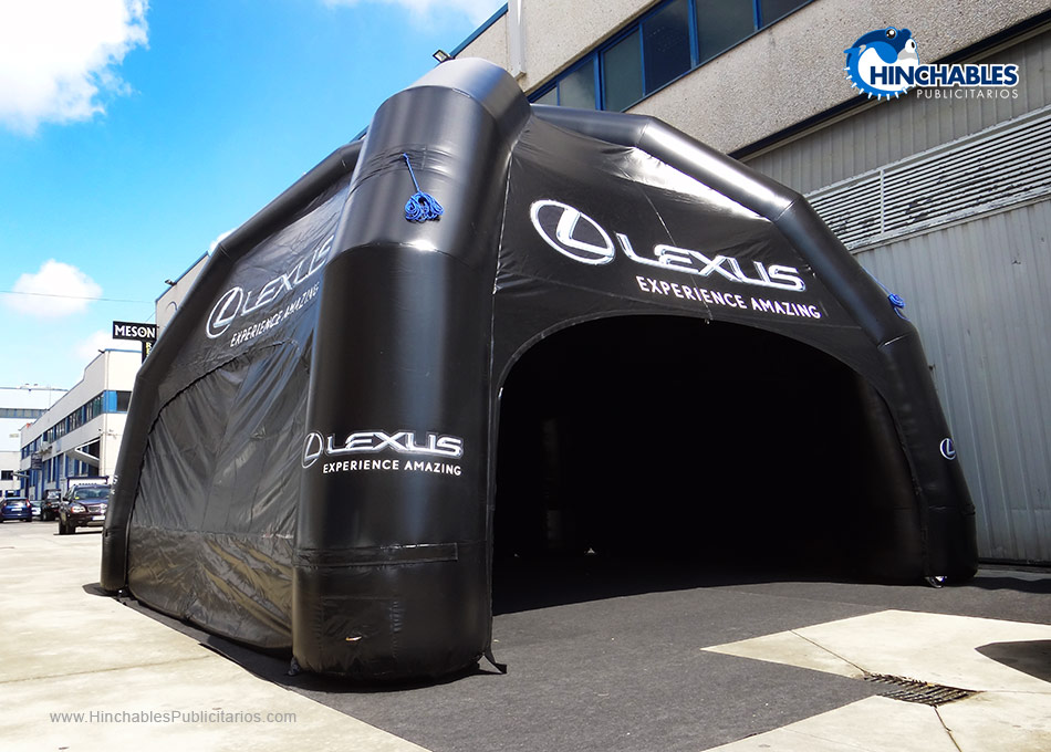 Carpa Hinchable Lexus