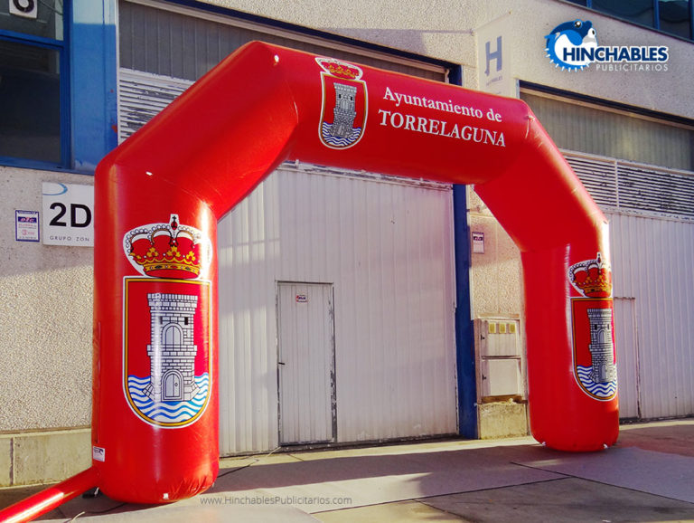 Arco Hinchable Ayuntamiento Torrelaguna