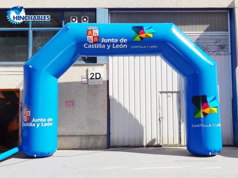 Arco Hinchable Junta de Castilla y Leon