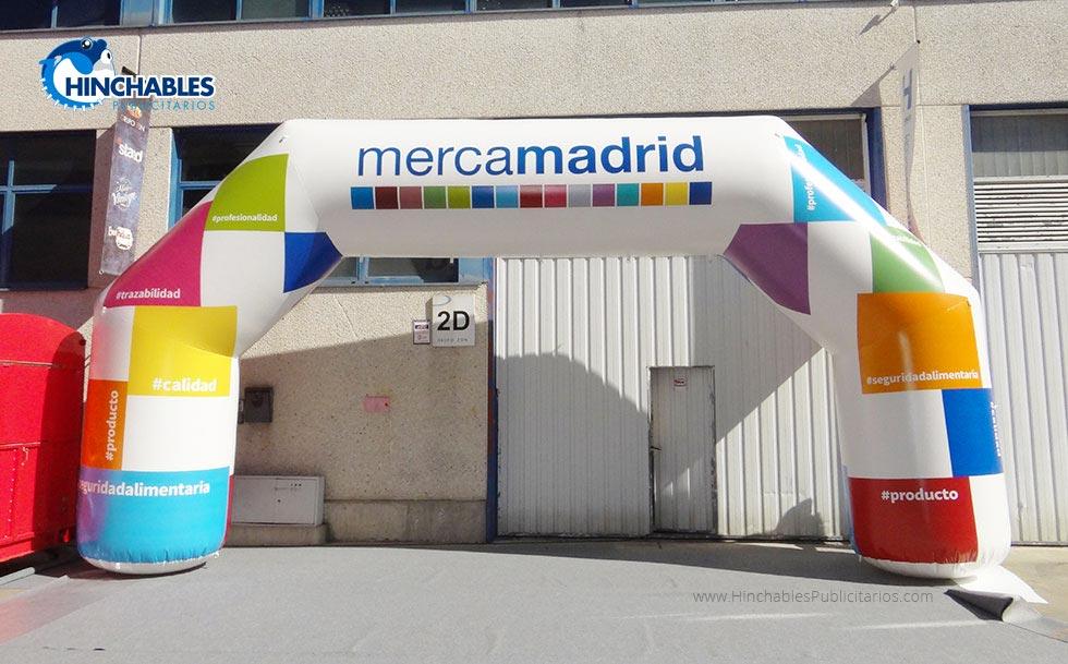 Arco Hinchable MercaMadrid