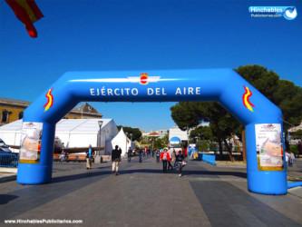 Arcos Hinchables Ejército del Aire España