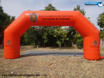 Arco Hinchable Ayuntamiento de Granada