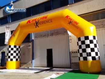 Arco Hinchable Karting